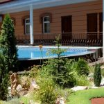 Piscine ouverte Hôtel Bek Tachkent