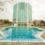 Piscine ouverte Hôtel City Palace Tachkent