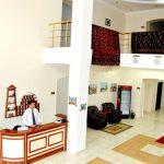 Réception Hôtel Arkontchi Khiva