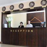 Réception Hôtel Asia Fergana