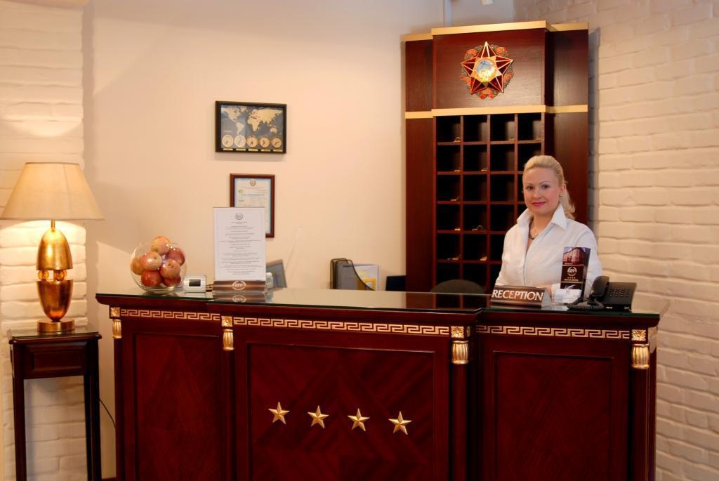 réception Hôtel Bek Tachkent