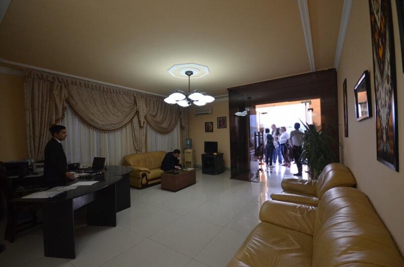 Réception Hôtel Club 777 Ferhagan
