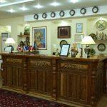 Réception Hôtel Grand Samarkand