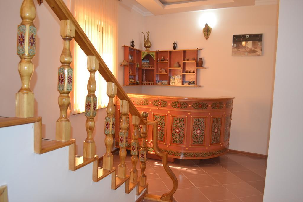 Réception Hôtel Kala Khiva