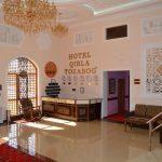 Réception Hôtel Kibla Tozabog Khiva