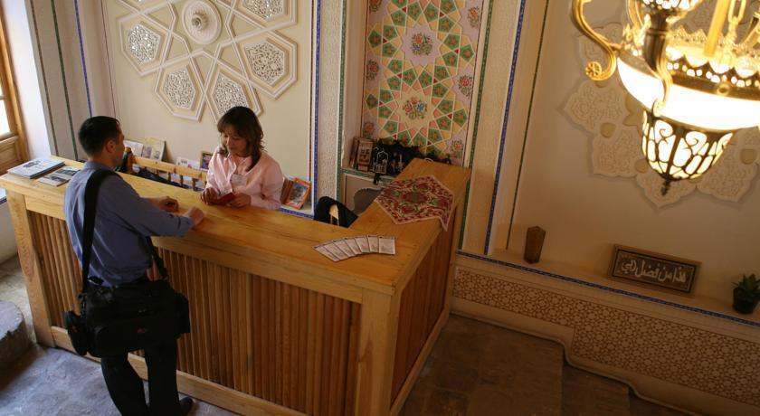 Réception Hôtel Komil Boukhara