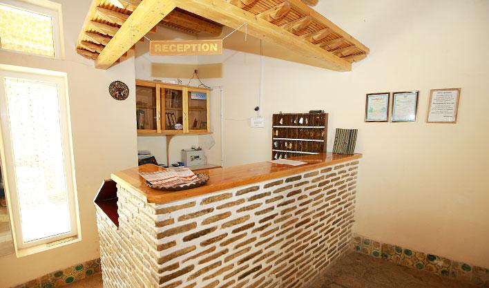 Réception Hôtel Lyabi Hause Boukhara