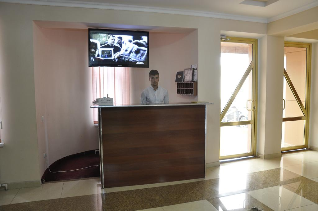 Réception Hôtel Madrasa Aminkhan Khiva
