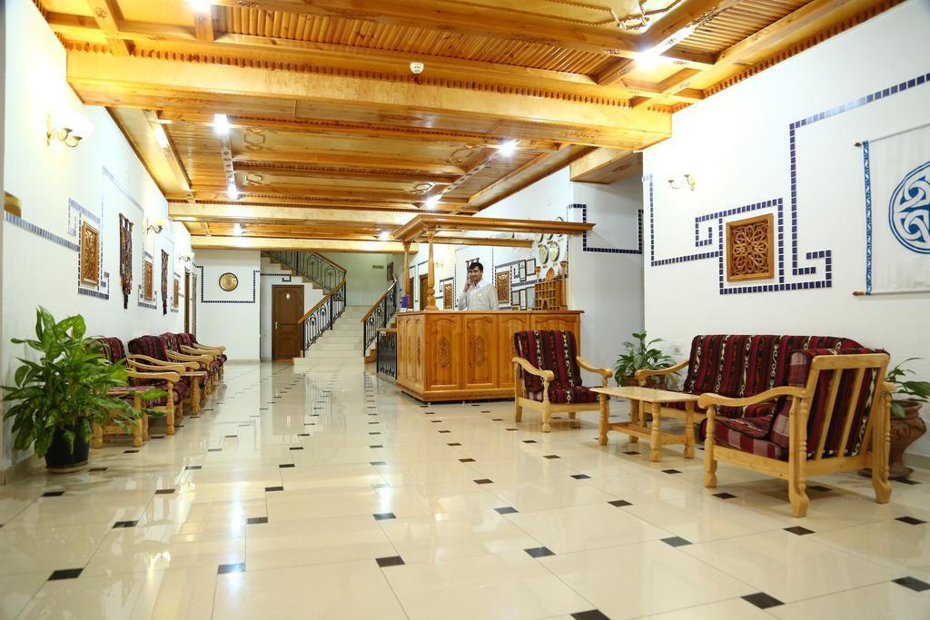 Réception Hôtel Malika Prime Samarkand