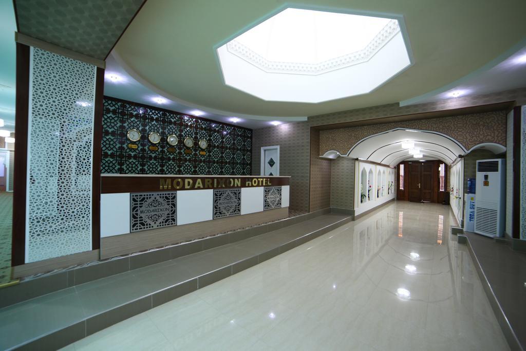 Réception Hôtel Modarihon Boukhara 2