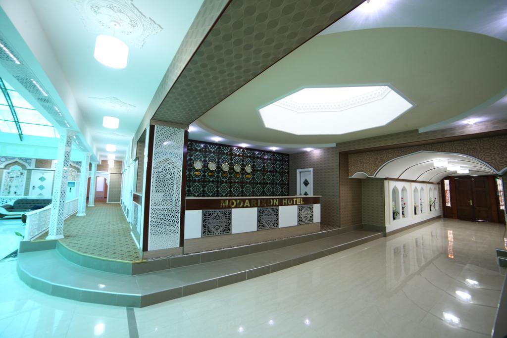 Réception Hôtel Modarihon Boukhara 3