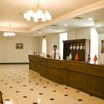 Réception Hôtel Registan Samarkand