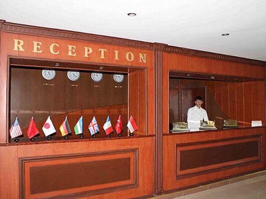 Réception Hôtel Shahrisabz Yulduzi
