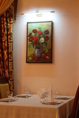 restaurant de l'Hôtel Grand Nur Tachkent 8