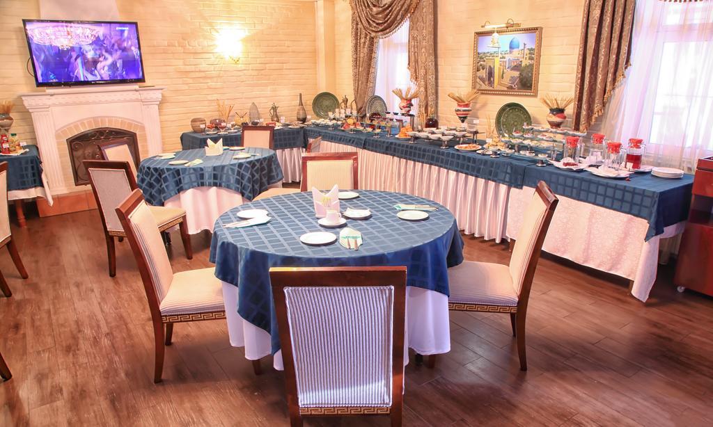 restaurant de l'Hôtel Shark Tachkent 11