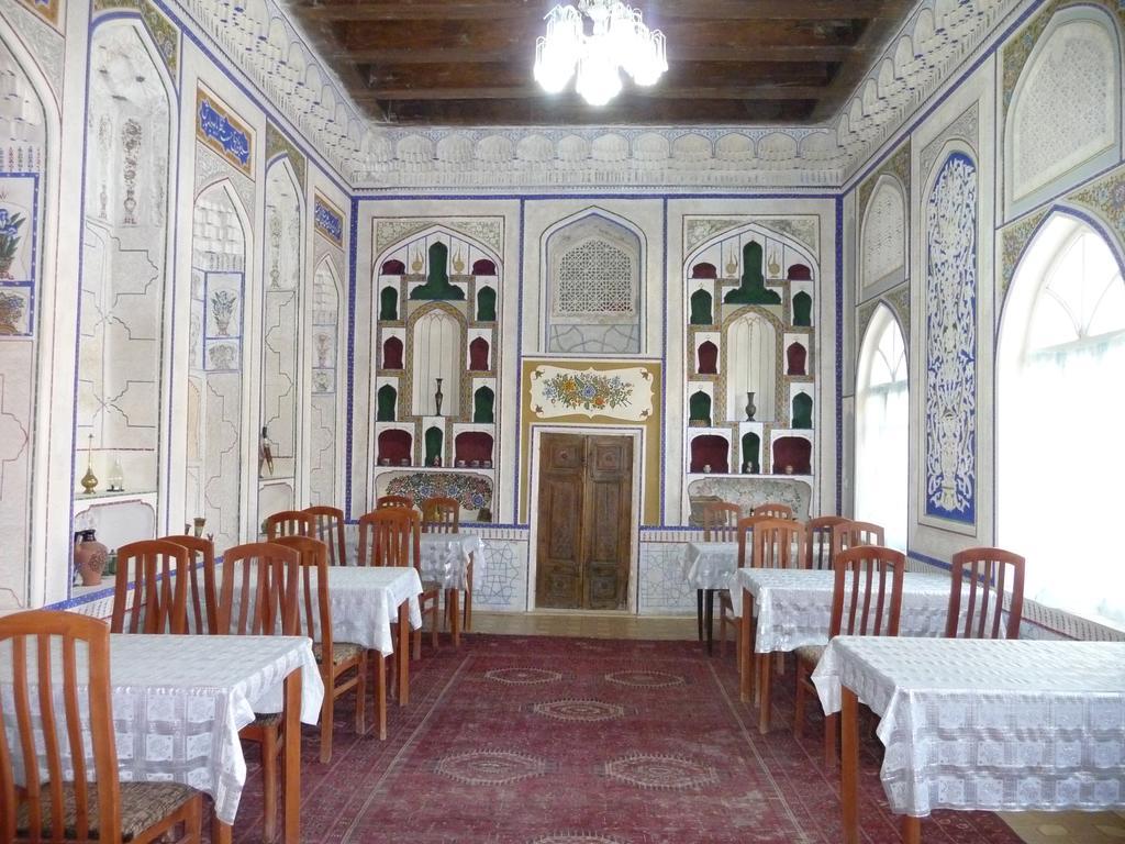 Restaurant Hôtel Hovly Poyon Boukhara 17