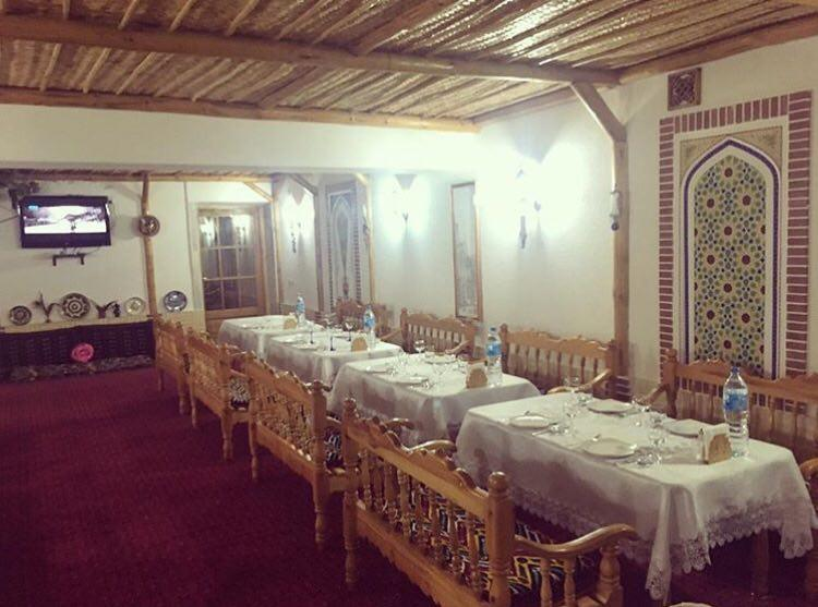 Restaurant Hôtel Kabir Boukhara 18