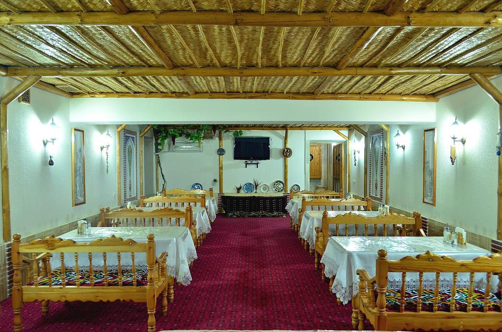 Restaurant Hôtel Kabir Boukhara 8
