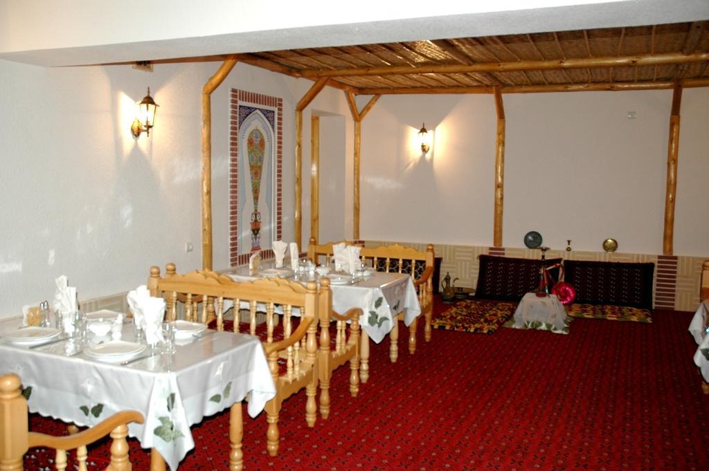 Restaurant Hôtel Kabir Boukhara
