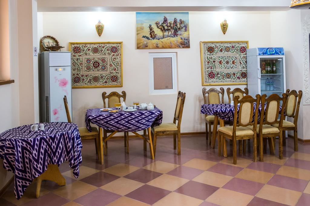 Restaurant Hôtel Kala Khiva 19