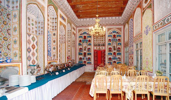 Restaurant Hôtel Lyabi Hause Boukhara