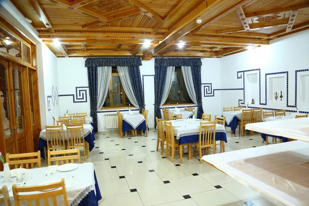 Restaurant Hôtel Malika Prime Samarkand
