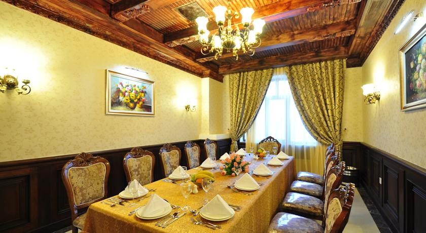 restaurant Hôtel Miran International Tachkent 12