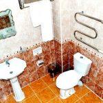 Salle de bain Hôtel Arkontchi Khiva 9