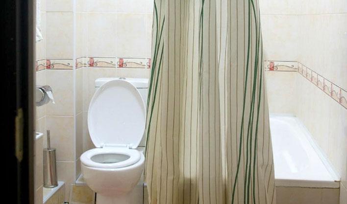 Salle de bain Hôtel Asia Fergana