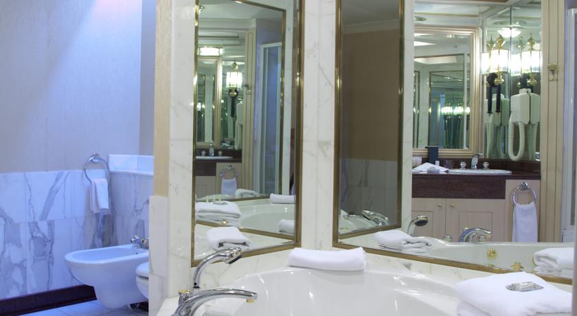 salle de bain Hôtel International Tachkent