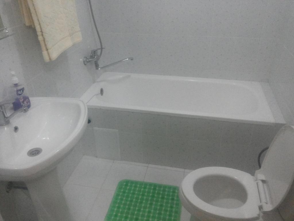 Salle de bain Hôtel Kuvontchoy Bonu Khiva