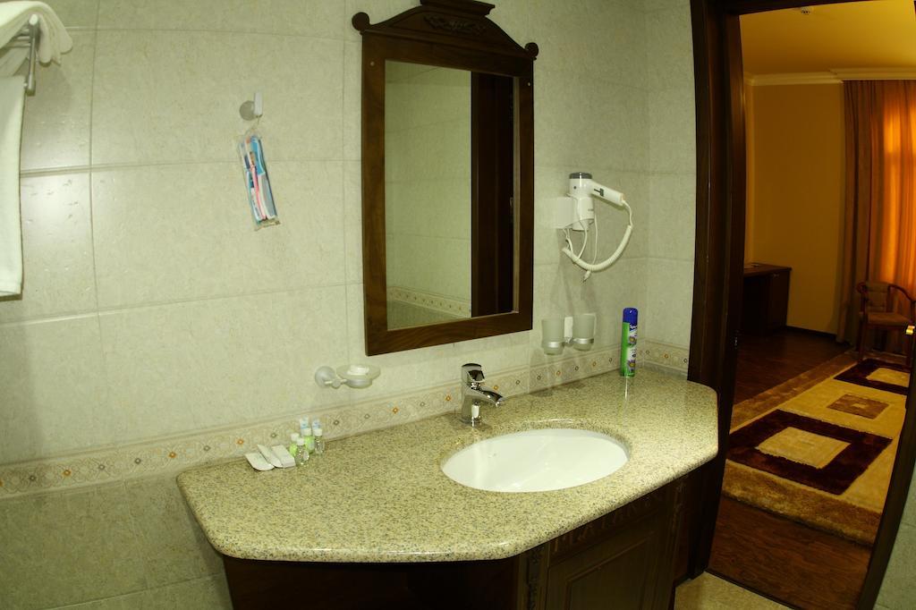 salle de bain Hôtel Platan Samarkand