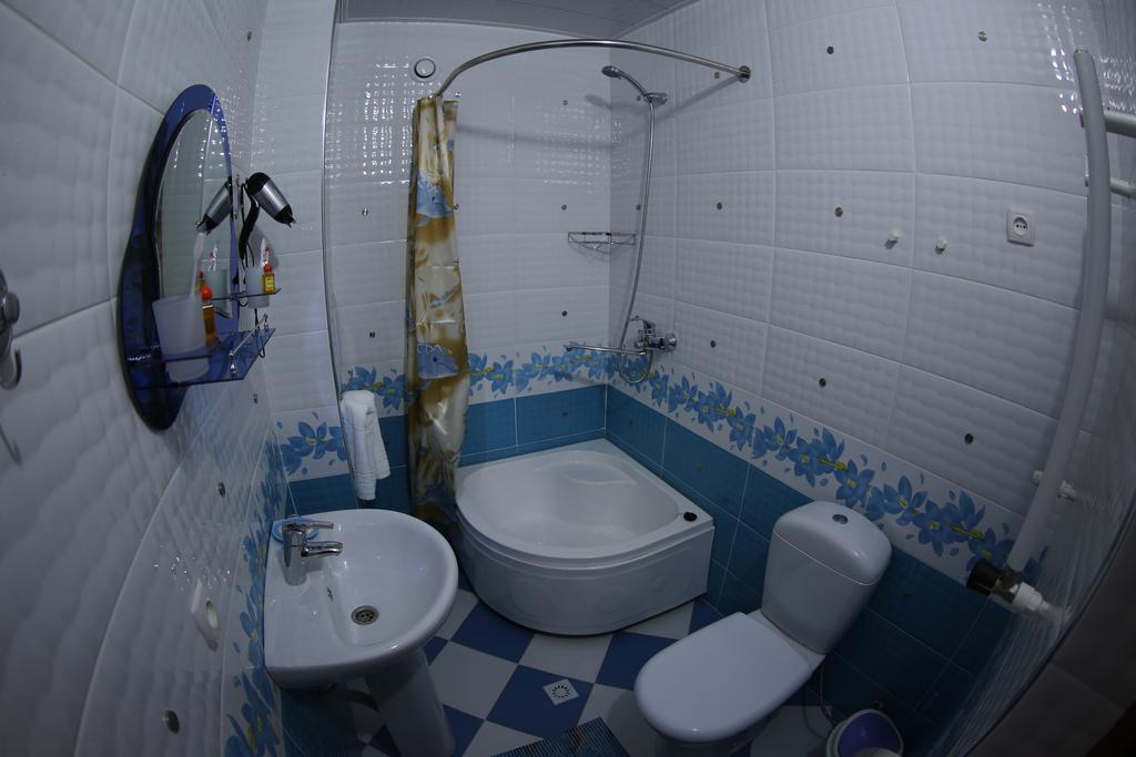 Salle de bain Hôtel Zilol Baht Samarkand 9