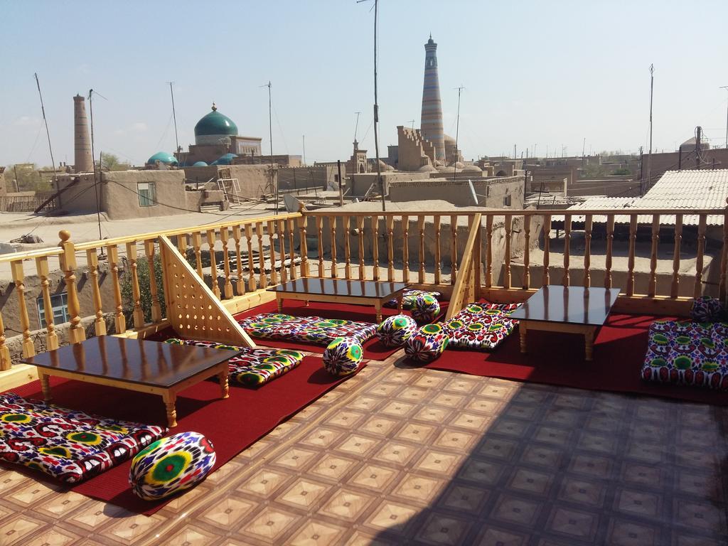 Terrasse Hôtel Euroasia Khiva