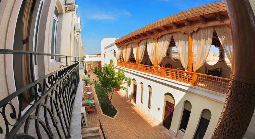 Terrasse Hôtel Malika Boukhara 9