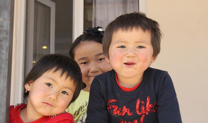 Famille Kirguize