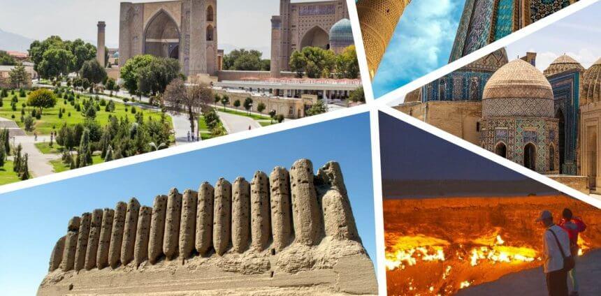 Turkménistan & Ouzbékistan